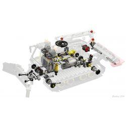 REBRICKABLE MOC-1237 1237 MOC1237 Xếp hình kiểu Lego TECHNIC Snowplow Đồ ủi tuyết 2903 khối