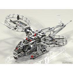 REBRICKABLE MOC-0074 0074 MOC0074 Xếp hình kiểu Lego TECHNIC Helicopter Máy bay trực thăng 1827 khối