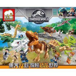 ELEPHANT JX1170 1170 Xếp hình kiểu Lego JURASSIC WORLD Dinosaur World 8 8 Mô Hình