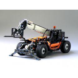 REBRICKABLE MOC-6302 6302 MOC6302 Xếp hình kiểu Lego TECHNIC Telescopic Forklift Xe nâng kính thiên văn 2250 khối