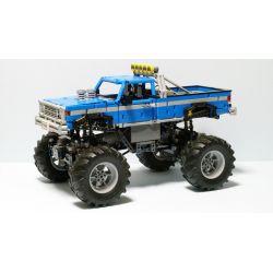 REBRICKABLE MOC-31327 31327 MOC31327 Xếp hình kiểu Lego TECHNIC Collectible Monster Truck Xe tải quái vật sưu tầm 1683 khối