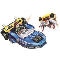 Winner 5099 Xếp hình kiểu Lego SHARP ARROWS ACTION Sharp Arrows Action Assault Speedboat Jiancheng Action Thuyền Xung Kích 269 khối