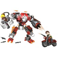 Winner 5100 Xếp hình kiểu Lego SHARP ARROWS ACTION Sharp Arrows Action Marauder Jiancheng Action Plunder Động Vật ăn Thịt 315 khối