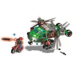 Winner 5101 Xếp hình kiểu Lego SHARP ARROWS ACTION Sharp Arrows Action Green Hawk Helicopter Jiancheng Action Eagle Helicopter Trực Thăng Green Eagle 319 khối