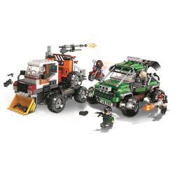 Winner 5103 Xếp hình kiểu Lego SHARP ARROWS ACTION Sharp Arrows Action Counter Terrorism Assault Vehicle Jiancheng Action Anti-terrorism Xe Tấn Công Chống Khủng Bố 523 khối
