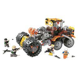 Winner 5102 Xếp hình kiểu Lego SHARP ARROWS ACTION Sharp Arrows Action Raging Chariot Jiancheng Action Violent Chariot Chariot Bạo Lực. 462 khối