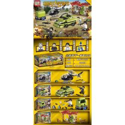 PRCK 62033 Xếp hình kiểu Lego GAME FOR PEACE Jedi Survival Peace Elite New Armor - Reload 4 Combinations Kết Hợp 4 Tổ Hợp Tải Lại Giáp Mới