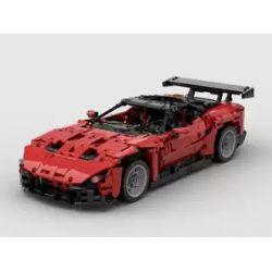 REBRICKABLE MOC-18800 18800 MOC18800 Xếp hình kiểu Lego TECHNIC Aston Martin Vulcan 1670 khối