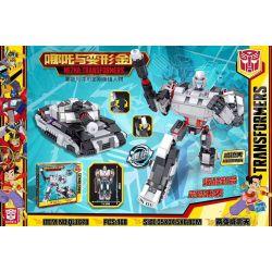 BLANK QL1678 1678 Xếp hình kiểu Lego TRANSFORMERS NEZHA-Transformers Which Is The Transformer Megatron Megatron. 468 khối