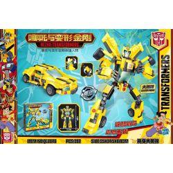 BLANK QL1676 1676 Xếp hình kiểu Lego TRANSFORMERS NEZHA-Transformers Which Is The Transformer Bumblebee Con Ong 392 khối