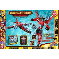BLANK QL1677 1677 Xếp hình kiểu Lego TRANSFORMERS NEZHA-Transformers Which Is The Transformer Wind Blade Lưỡi Gió 427 khối