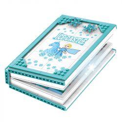 SHENG YUAN SY SY6579 6579 Xếp hình kiểu Lego FROZEN Ice And Snow Princess II Ice And Snow Book Sách Về Tuyết 575 khối
