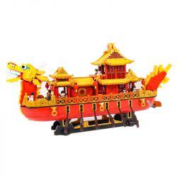 XINGBAO XB-25002 25002 XB25002 Xếp hình kiểu Lego CREATOR Royal Dragon Boat Thuyền rồng Hoàng gia 3325 khối