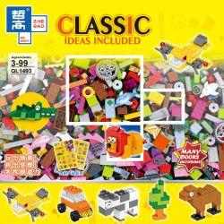 ZHEGAO QL1493 1493 Xếp hình kiểu Lego CLASSIC Classic Ideas Included Free Assembled Creative Base Parts DIY Small Base Parts Lắp Ráp Miễn Phí Các Bộ Phận Cơ Bản Sáng Tạo Tự Làm Các Bộ Phận Cơ Bản Nhỏ