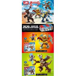 LW 305 Xếp hình kiểu Lego ULTRAMAN Altman The Universe Monster 4 Destroyed The Magic Insects, And The Universe Beast Lei Xiu Bas, Cultivated The Synthetic Beasts Cargo Mora, The Game And Space Destroy