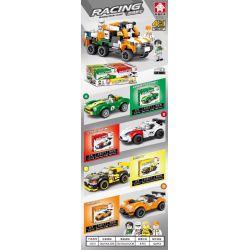 Bela 31011 Lari 31011 LEYI 31011 Xếp hình kiểu Lego RACING Passion Car 4 In 1 Combination Off-road Big Truck Cần Dịch 671 khối