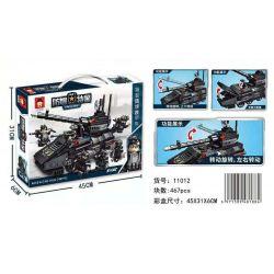 RUIZHI BEE 11012 Xếp hình kiểu Lego Technic SWAT SPECIAL FORCE Explosion-proof Special Police SWAT Special Police Explosion-proof Armored Vehicle Xe Bọc Thép Chống Nổ Của Cảnh Sát đặc Nhiệm 467 khối