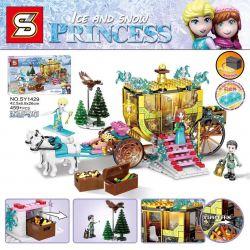 SHENG YUAN SY SY1429 1429 Xếp hình kiểu Lego Ice And Snow Princess Frozen Vận Chuyển Băng 459 khối
