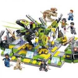 ELEPHANT JX90069 90069 Xếp hình kiểu Lego JURASSIC WORLD Mechanical Dinosaur World 8 Combination 8 Sự Kết Hợp Của Thế Giới Khủng Long Cơ Học 1105 khối