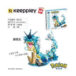 Enlighten B0110 0110 Qman B0110 0110 Xếp hình kiểu Lego POKÉMON Pokemon Treasure Dream Violent Khủng Long Bạo Chúa 481 khối