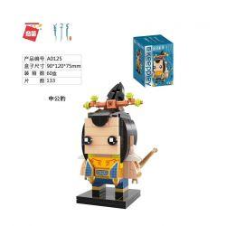 Enlighten A0125 0125 Qman A0125 0125 Xếp hình kiểu Lego FAIRY SWORDPLAY Keepley Ginger Teeth Shen Leopard Shen Leopard. 133 khối
