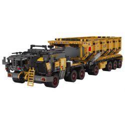 XIAOMI MITU MI ONEBOT OBLDQ18AIQ 18AIQ Xếp hình kiểu Lego THE WANDERING EARTH CN373 Bucket Carrier Standard Version Phiên Bản Tiêu Chuẩn CN373 Bucker Carrier 2100 khối