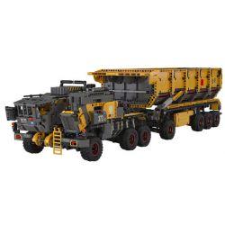 XIAOMI MITU MI ONEBOT OBLDQ15AIQI 15AIQI Xếp hình kiểu Lego THE WANDERING EARTH CN373 Bucket Carrier Limited Edition Phiên Bản Giới Hạn CN373 Bucker Carrier 3300 khối