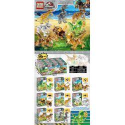 PRCK 69013 Xếp hình kiểu Lego JURASSIC WORLD Crystal Dinosaur Adventure Cuộc Phiêu Lưu Của Khủng Long Pha Lê