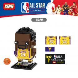 XINH 9020 Xếp hình kiểu Lego BRICKHEADZ NBA ALL STAR Kobe Bryant