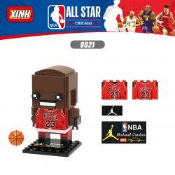 XINH 9021 Xếp hình kiểu Lego BRICKHEADZ NBA ALL STAR Michael Jordan Michael Jordan.