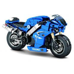 SEMBO 701102 SHENZHEN RAEL ENTERTAINMENT 50008 Xếp hình kiểu Lego MOTO Enjoy The Ride Yamaha R1 Yamaha R1. 301 khối