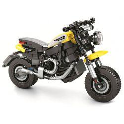 SEMBO 701105 Xếp hình kiểu Lego CREATOR Ducati Scrambler Enjoy The Ride Dukadi Travels From Tour Thưởng Thức Chuyến đi 701105 270 khối