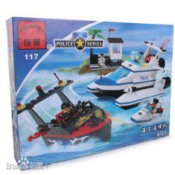 Enlighten 117 Qman 117 Xếp hình kiểu Lego GEAR The Mandalorian Keyring Sea Warfare Team Đội Hàng Hải Truy Nã 472 khối