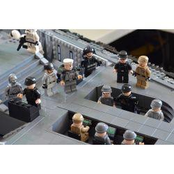 MOULDKING 21004 Xếp hình kiểu Lego STAR WARS UCS Eclipse-Class Dreadnought 10101 khối
