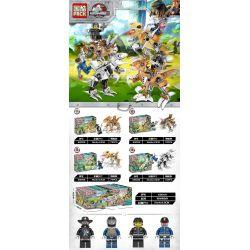 PRCK 69009 Xếp hình kiểu Lego FROZEN DINOSAUR WORLD III Raptors Attack 4 Raptors Tấn Công 4 Kiểu 294 khối