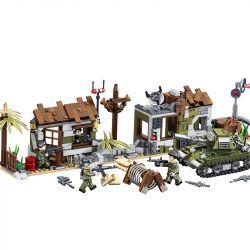 PanlosBrick 636004A 636004B 636004C 636004D Panlos Brick 636004A 636004B 636004C 636004D Xếp hình kiểu Lego PEACEMISSION Peace Mission Exercise Command 4 Bài Tập Command 4 Kiểu gồm 4 hộp nhỏ 865 khối