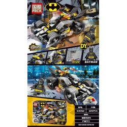 PRCK 64062 Xếp hình kiểu THE LEGO BATMAN MOVIE Mechanical Chariot Batman Chariot Back Car Người Dơi Xe Ngựa Kéo Xe Trở Lại 225 khối