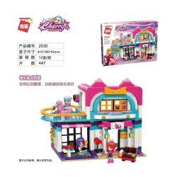 Enlighten 2030 Qman 2030 Xếp hình kiểu Lego Cherry Music Party Villa Biệt Thự Tiệc âm Nhạc 447 khối