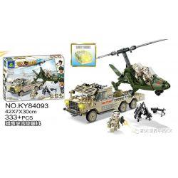 Kazi KY84093 84093 Xếp hình kiểu Lego MILITARY POWER Guiline Eagle Falcon Assault Rotor Phi Thuyền Tấn Công Falcon 333 khối