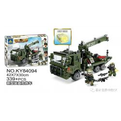 Kazi KY84094 84094 Xếp hình kiểu Lego MILITARY POWER Guiline Eagle New Equipment Rescue Thiết Bị Mới Xe Cứu Hộ 339 khối