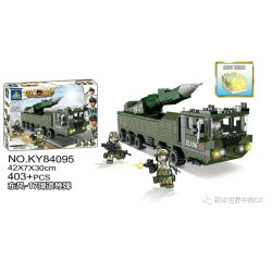 Kazi KY84095 84095 Xếp hình kiểu Lego MILITARY POWER Guiline Eagle Dongfeng -17 Ballistic Missile Tên Lửa đạn đạo Dongfeng-17 403 khối