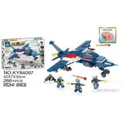 Kazi KY84097 84097 Xếp hình kiểu Lego MILITARY POWER Guiline Eagle 歼 教 -9 (mountain Eagle) JJ-9 (Đại Bàng Núi) 266 khối