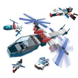 GUDI 8221 Xếp hình kiểu Lego Earth Border Ghost Fighter Plane Máy Bay Chiến đấu Ghost 171 khối