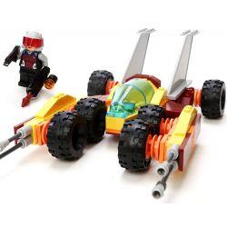 GUDI 8223 Xếp hình kiểu Lego Earth Border Speed thunderstorm Fire Assault Cơn Giông Cực Nhanh Và Xe Tấn Công Chữa Cháy 140 khối