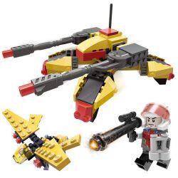 GUDI 8222 Xếp hình kiểu Lego Earth Border Over-limit Sniper Vượt Qua Bắn Tỉa 148 khối