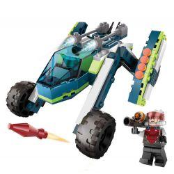 GUDI 8225 Xếp hình kiểu Lego Earth Border Battlefield Ghost Chiến Trường Ma 185 khối