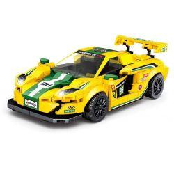 LEYI 31013 Xếp hình kiểu Lego RACING Racing Mclaren P1 GTR Passion Car Mclaren P1 Gtr. 335 khối