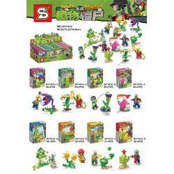 SHENG YUAN SY SY1412 1412 Xếp hình kiểu Lego PLANTS VS ZOMBIES Plants Vs.Zombies Plants Vs. Zombies 8 Plants Vs.Zombies 8 261 khối