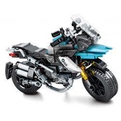 SEMBO 701108 Xếp hình kiểu Lego MOTO Motorcycle GS Enjoy The Ride BMW GS Motorcycle Mô Tô BMW GS 255 khối