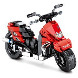 SEMBO 701109 Xếp hình kiểu Lego MOTO Enjoy The Ride Yamaha Yamaha. 268 khối